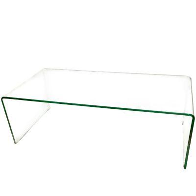 glass peekaboo table